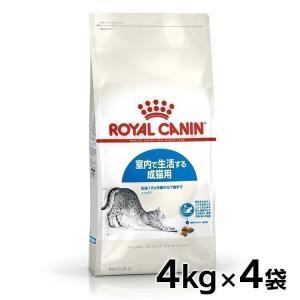 特価☆ロイヤルカナン 猫 インドア 4kg04個セット ( 成猫用 生後12ヵ月齢から7歳 室内で生活する猫用 FHN キャットフード )