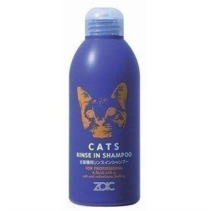 簡単便利な全猫種用リンスインシャンプー♪デリケートな猫の皮膚にやさしい低刺激性シャンプーです。低刺激...