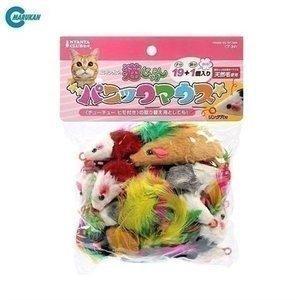 猫用 おもちゃ マルカン パニックマウス 19+1 品 玩具 ねずみ nyanko