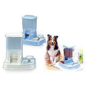 ペット用 自動給餌器 JQ-350 (ペットフィーダー おるすばん 旅行 (犬 猫))