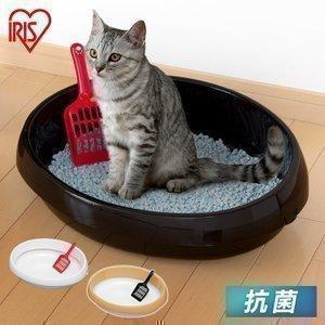 猫トイレ におい対策 おしゃれ 収納 猫 トイレ アイリスオーヤマ ペット用 猫用 本体 猫用トイレ用品 おすすめ 人気 ネコのトイレ P-NE480|nyanko