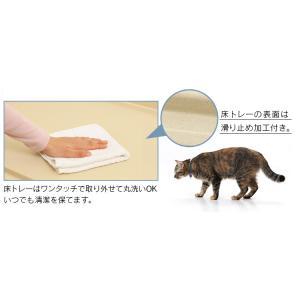 猫 ケージ 大型 ケージ飼い 2段 木製 おしゃれ キャットケージ ケージ ペットケージ 猫ケージ 犬 アイリスオーヤマ ウッディキャットケージ PWCR-962 nyanko 07