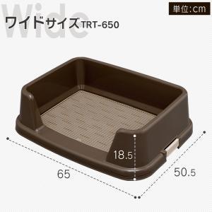犬トイレ トレーニング トイレ 犬 犬トイレ TRT-650 アイリスオーヤマ|nyanko|06
