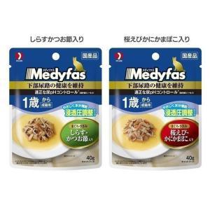 メディファス スープパウチ 1歳から 成猫用 4...の商品画像