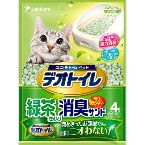 デオトイレ飛散らない緑茶成分入り・消臭サンド4...の関連商品8