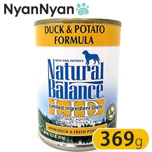 ナチュラルバランス(Natural Balance)ダック&ポテトフォーミュラ ドッグフード 缶詰 ...