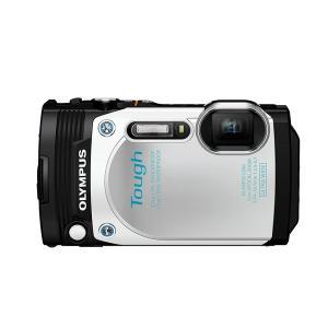 オリンパス Olympus TG-870 Tough Waterproof デジタルカメラ ホワイト(代引き不可)