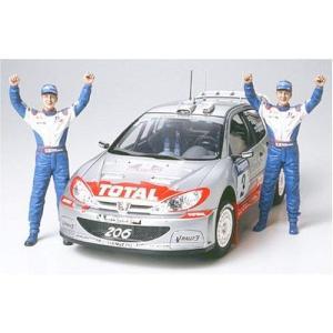 タミヤ 1/24 スポーツカーシリーズ No.262 プジョー 206 WRC 02 ウィナー仕様 プラモデル 24262 o-k-you