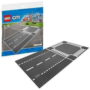 レゴ (LEGO) シティ ロードプレート 直線+交差点(2枚入り) 7280 o-k-you