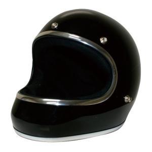ダムトラックス(DAMMTRAX) バイクヘルメット フルフェイス AKIRA ブラック Lサイズ(59CM~60CM)|o-k-you