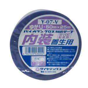 ダイヤテックス パイオランクロス 養生テープ 内装養生用 ゆかり 50mm×25m Y-07-V [マスキングテープ]|o-k-you