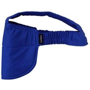 ヘルメット作業の熱中症対策に水冷キャップ、クールビット・ビルダーII(NAVY)品番;CBB2−NVY、水の気化熱で長時間、運動神経を司る後頭部を冷やす o-k-you