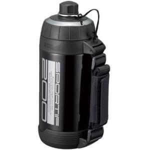 ピーコック 水筒 ステンレスボトル ストレートドリンクタイプ グロスブラック 2.0L ADT-200 BG o-k-you