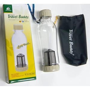 茶漉し付きエコボトル(Travel Buddy) 大サイズ  580cc o-k-you