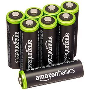 充電式ニッケル水素電池 単3形8個パック                      信頼性の高い電池...