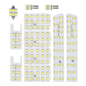 最高級LED使用 明るさ調節可能 20系 ヴェルファイア アルファード 専用設計 SMD LED ルームランプ セット|o-k-you