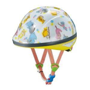 OGK KABUTO(オージーケーカブト) チャイルドメット PEACH KIDS ズーホワイト 幼児用 (頭囲 47cm~51cm) o-k-you