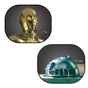 ナポレックス 車用 サンシェード スター・ウォーズ ぱっシェード C-3PO&R2-D2 SW-3 o-k-you
