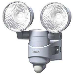 ムサシ RITEX 7W×2灯 LEDセンサーライト 「AC電源タイプ」 防雨タイプ LED-AC314 o-k-you