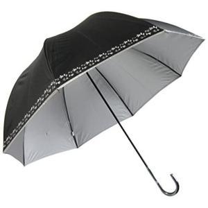 Lサイズ 晴雨兼用 日傘 UVカット 紫外線遮蔽率99% 生地裏シルバーコーティング 蔦花柄 かわいいドーム型(深張仕様) 60cm 手開き傘 (蔦花 o-k-you