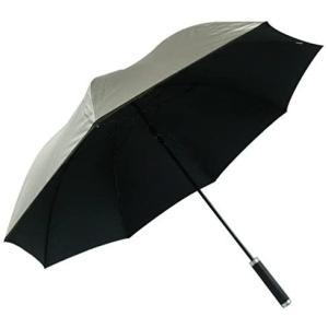 日光を遮断! 晴雨兼用 日傘 ゴルフにもOK 丈夫なグラスファイバー骨×使いやすさ抜群の直径約110cm×シル o-k-you