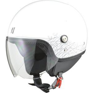 リード工業(LEAD) バイクヘルメット ジェット シールド付 PALIO ホワイト レディースフリーサイズ (55cm~57cm未満) -|o-k-you