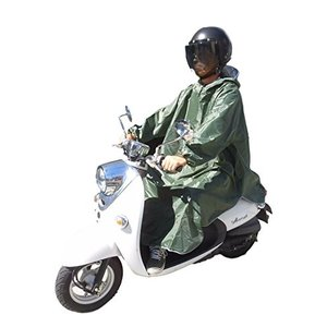 onion cross レインコート レインポンチョ バイク 自転車 車椅子 雨合羽 レインウェア (グリーン) o-k-you
