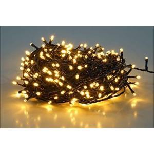 salcar 25m 360球 ストレット イルミネーションLEDライト 防水 ワイヤライト 屋内屋外使用可能 クリスマス パーティー ハロウィン 常 o-k-you