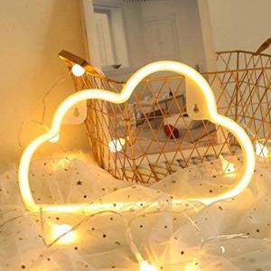 LED 雲ライト屋内装飾夜ランプネオンサイン イルミネーション ナイトライト 壁の装飾ライト雰囲気作り バレンタイン ホーム飾り付け 結婚式 パーティ o-k-you