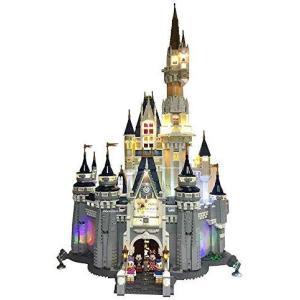 レゴ(LEGO)ディズニー シンデレラ城 (71040) 用 電飾ライトキット Deluxe Lighting Kit for Your Lego D o-k-you