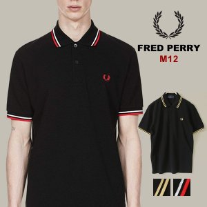 FRED PERRY フレッドペリー メンズ ベーシック ポロ イギリス製 定番 シンプル ポロシャ...