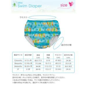 アイプレイ iplay 水遊びパンツ 水遊び用オムツ 水遊び オムツ スイムパンツ 男の子 女の子 ベビースイム オムツ機能付き 水着 o-kini 09