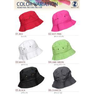 ニューハッタン バケットハット NEWHATTAN シンプル ハット 帽子 オシャレ デニム アウトドア 登山 スポーツ メンズ カジュアル|o-kini|02