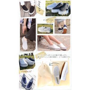 スリッポン スニーカー レディース 厚底 ローカット 靴 キルティングスニーカー フラットシューズ|o-kini|03