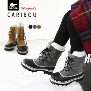 SOREL ソレル スノーブーツ レディース Caribou カリブー NL1005 防水 ブーツ ...