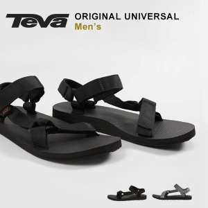 teva テバ サンダル メンズ スポーツサンダル 夏 おしゃれ Teva ORIGINAL UNIVERSAL オリジナル ユニバーサル ブラック 人気 ブランド