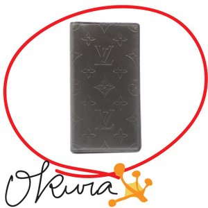 中古 ルイ ヴィトン 手帳カバー モノグラムグラセ|o-kura