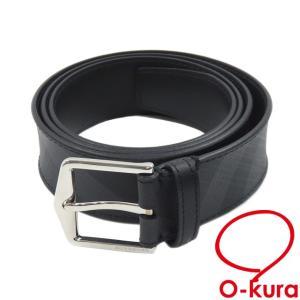 バーバリー ベルト メンズ レザー PVC 中古 未使用品|o-kura
