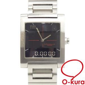 中古 ダンヒル 腕時計 メンズ クォーツ SS 48336 dunhill 電池式 メンズウォッチ ...