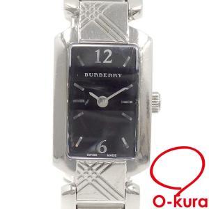 バーバリー 腕時計 レディース クォーツ SS 中古|o-kura