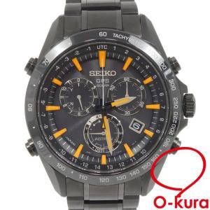 中古 セイコー 腕時計 アストロン メンズ ソーラー SS セラミック 8X82-0AC0 SEIK...