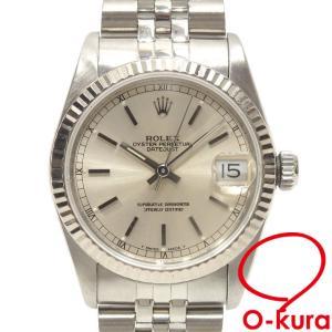 値下げしました ロレックス ROLEX デイトジャスト ボーイズ 68274 オートマ L番 1990年頃製 SS WG 腕時計 自動巻き 機械式 中古 o-kura