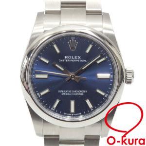 ロレックス ROLEX オイスターパーペチュアル メンズ 124200 オートマ ランダム番 SS 腕時計 自動巻き 機械式 中古 o-kura