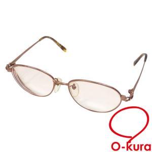 バーバリーズ カラーレンズ メガネフレーム 度入り レディース ブラウン 1009 アイウェア 眼鏡 中古|o-kura