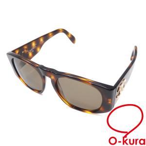 シャネル サングラス レディース ブラウン 茶色 プラスチック 眼鏡 メガネ アイウェア ココマーク 中古 o-kura