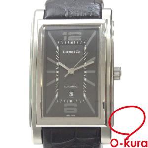 ティファニー 腕時計 グランド メンズ オートマ SS 革ベルト Z0031.68.10A10A70A 自動巻き 中古|o-kura