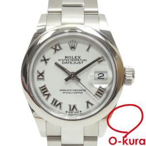 ロレックス ROLEX デイトジャスト レディース 279160 オートマ L番 1990年頃製 SS 腕時計 自動巻き 機械式 中古|o-kura