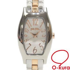フォリフォリ 腕時計 レディース クォーツ SS WF8T026BPZ 電池式 レディースウォッチ 中古|o-kura