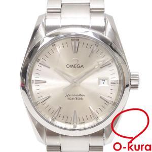 オメガ 腕時計 シーマスター アクアテラ メンズ クォーツ SS 2518.30 電池式 2518-30 中古|o-kura