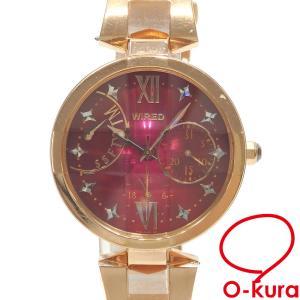 ワイヤード 腕時計 レディース クォーツ SS 5Y66-0AM0 電池式 レディースウォッチ 中古|o-kura